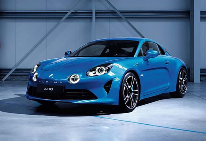Alpine A110: Alle Japanners willen er een #1