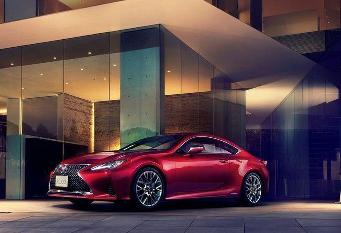 Lexus RC: facelift en verbeterde schokdempers #1