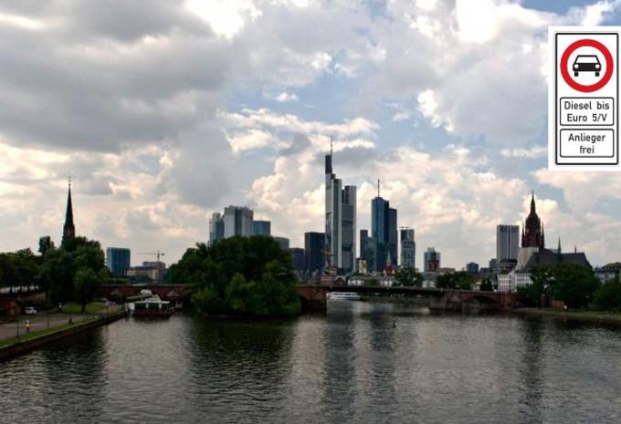 Diesels van Euro 5 of minder worden verboden in Frankfurt #1