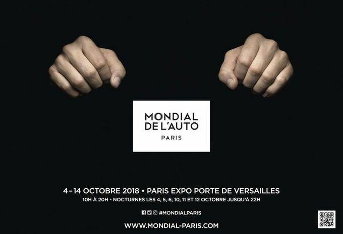 Autosalon van Parijs 2018: praktische info #1