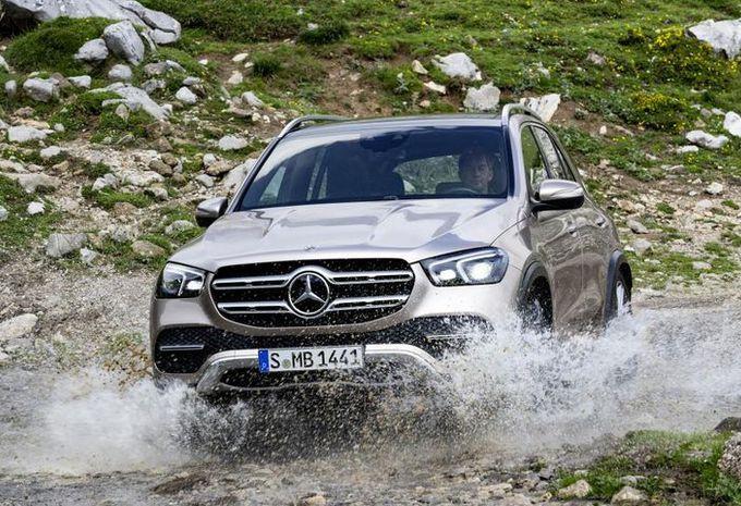 Mercedes GLE gaat het hogerop zoeken #1