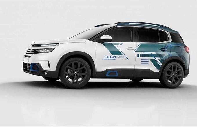 Citroën C5 Aircross Hybrid Concept start elektrisch offensief #1