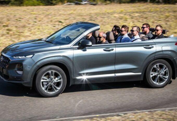 Hyundai Australië maakt Santa Fe Cabriolet #1