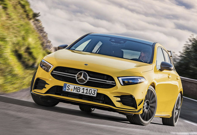 Paris 2018 : Mercedes-AMG A35