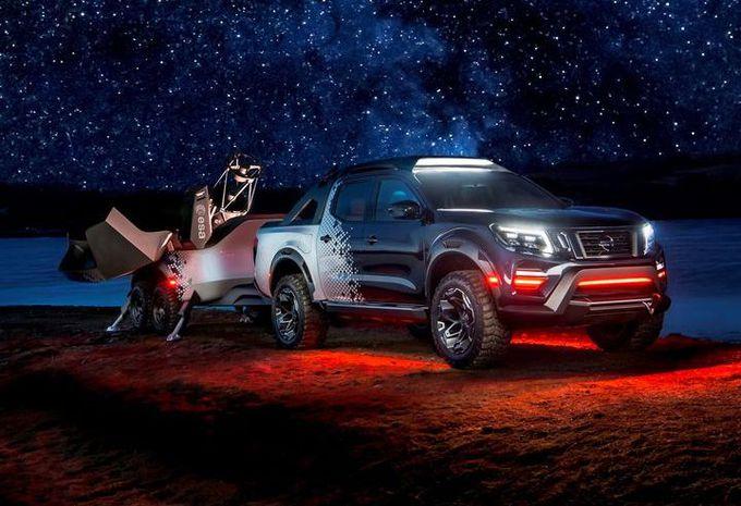 Nissan Navara Dark Sky : la voiture télescope #1