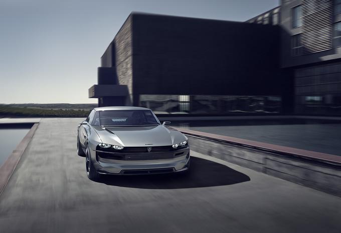 VIDÉO - Peugeot e-Legend Concept : Coupé 504 du XXIe siècle #1