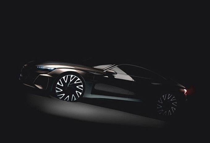Salon Van Los Angeles 2018 Audi Sport E Tron Gt Elektrische A7