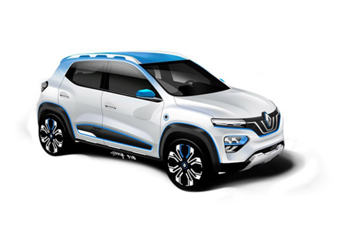 Renault: een betaalbare elektrische auto en hybrides! #1