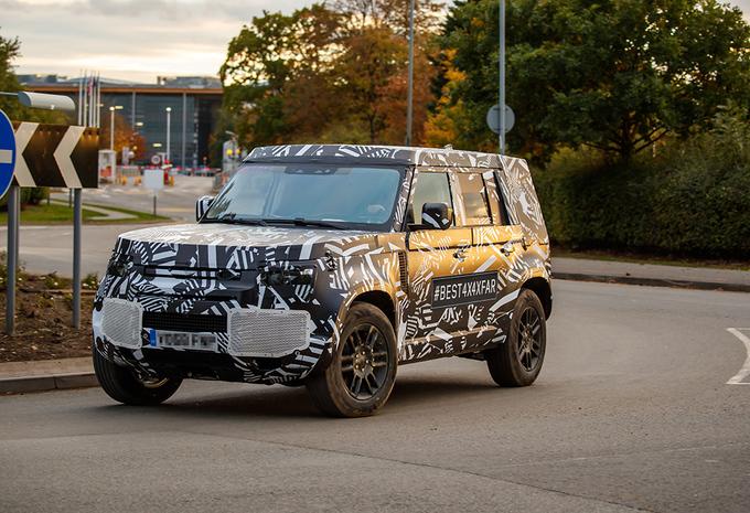 Wat weten we al over de Land Rover Defender? #1