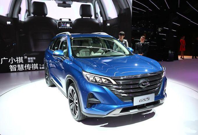 GAC GS5 : SUV chinois à Paris #1