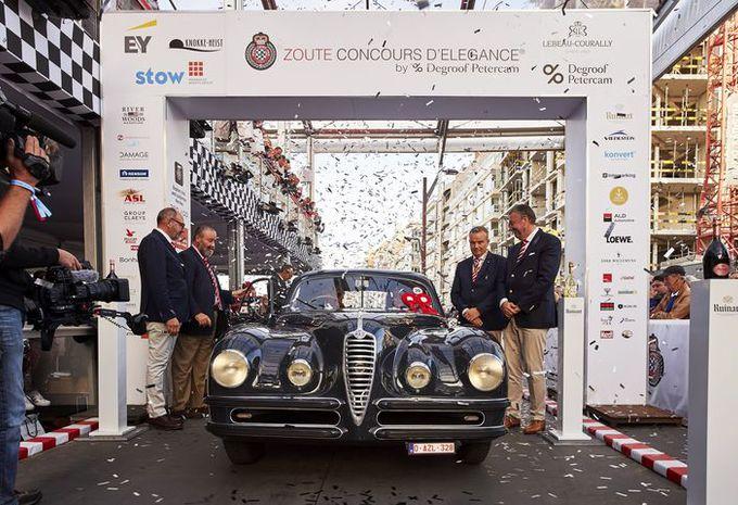 Une Alfa Romeo de 1948 primée au Zoute Grand Prix #1