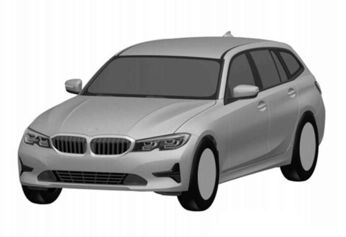 Fuite d'images de la BMW Série 3 Touring #1