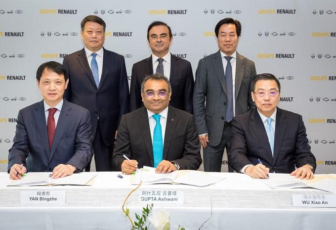 Accord Renault et Brilliance pour des VUL en Chine #1