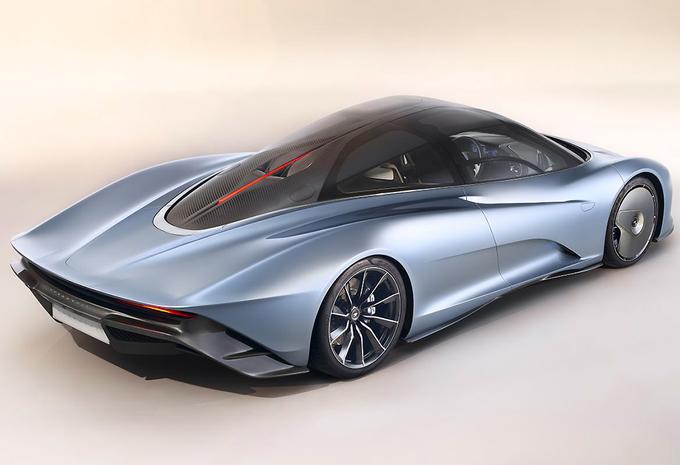 McLaren Speedtail heeft 1050 pk en haalt 403 km/u #1