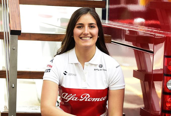 Tatiana Calderón mag achter het stuur kruipen van de Sauber C37 #1