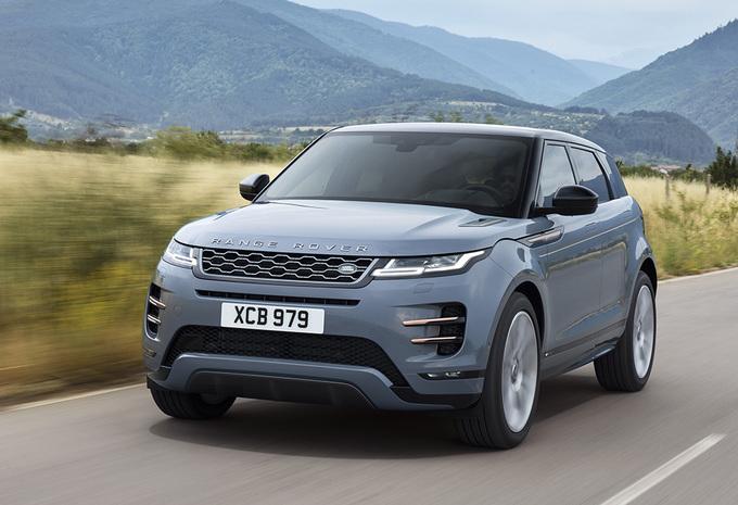 range rover evoque 2019 moniteur automobile. Black Bedroom Furniture Sets. Home Design Ideas