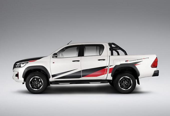 Toyota Gazoo Racing gaat off-road met de Hilux GR Sport #1