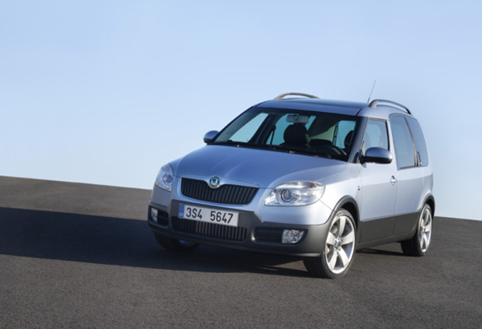 Skoda Roomster Scout #1