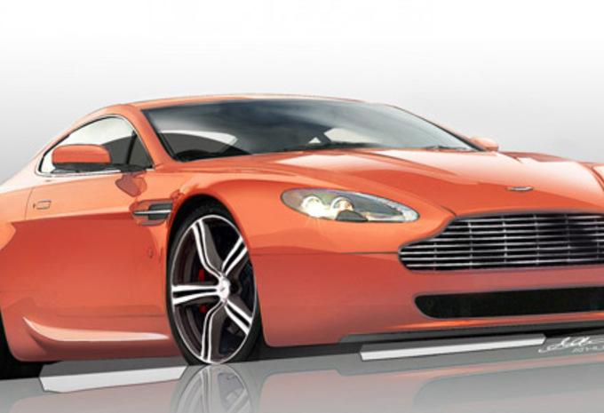 Aston Martin V8 Vantage N400 #1