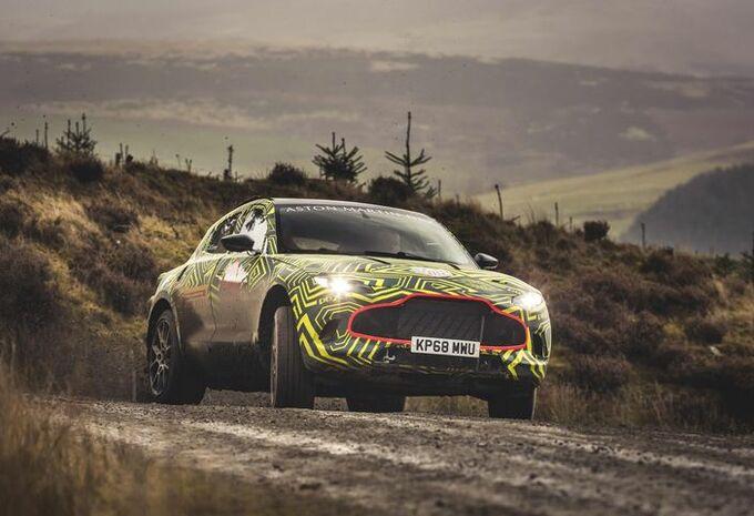 VIDÉO - Aston Martin DBX : les tests commencent #1
