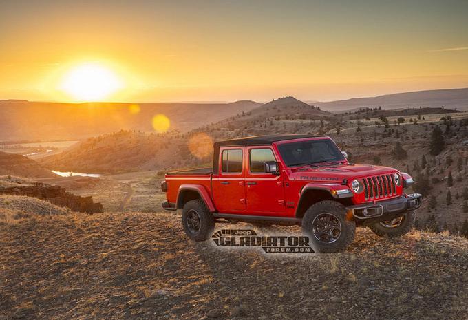 Jeep Gladiator : le pick-up Wrangler #1