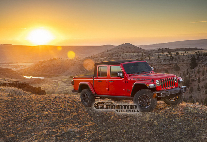Jeep Gladiator: pick-up op basis van Wrangler #1