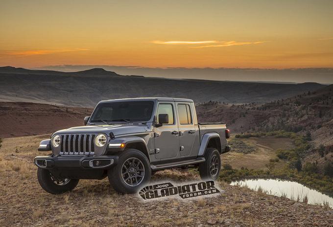 Jeep Wrangler pick-up heet Gladiator #1