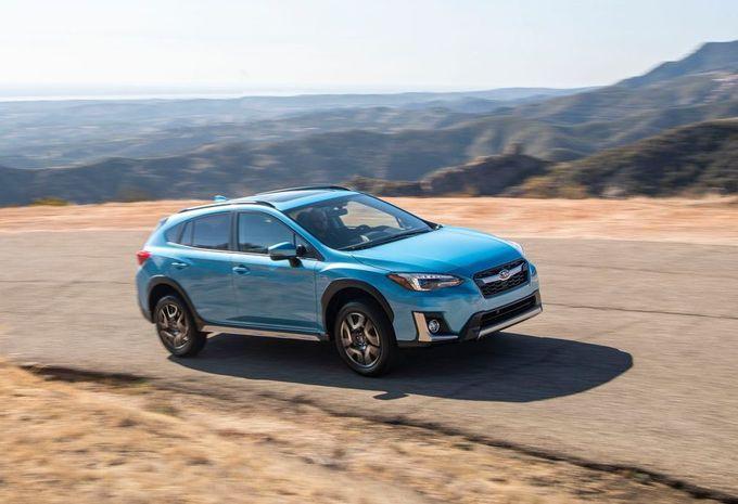 Subaru XV stekkert als Plug-in Hybrid #1