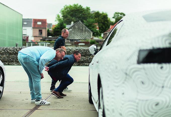 Zou je een camoufleerde Peugeot 508 verwarren met de A5 Sportback? #1