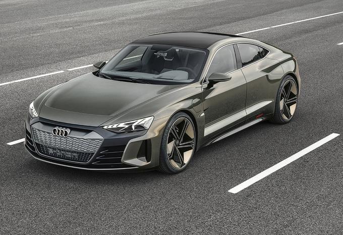 Audi e-tron GT : Une version de production en 2021 #1