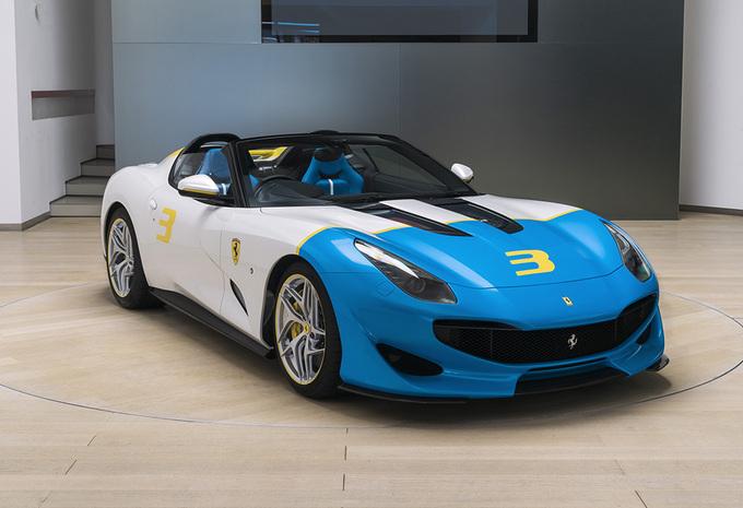 Ferrari SP3JC : plaisir unique, sans toit #1