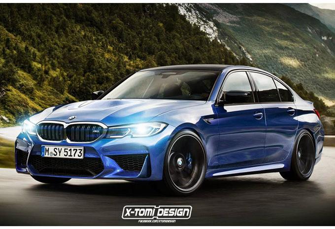 BMW M3 : en 2020 avec 470 ch #1