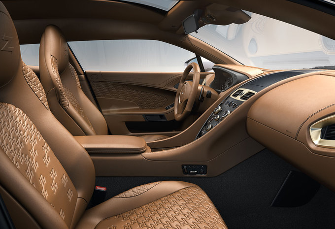 L'intérieur de l'Aston Martin Zagato Shooting Brake #1