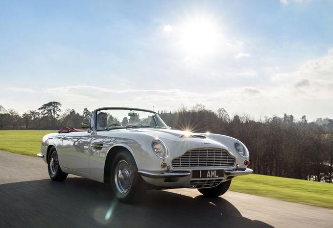 Aston Martin wil klassiekers ook elektrisch maken #1