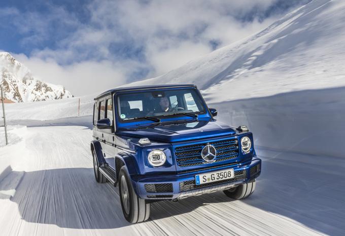 Mercedes G 350d : le G Diesel d'entrée de gamme #1