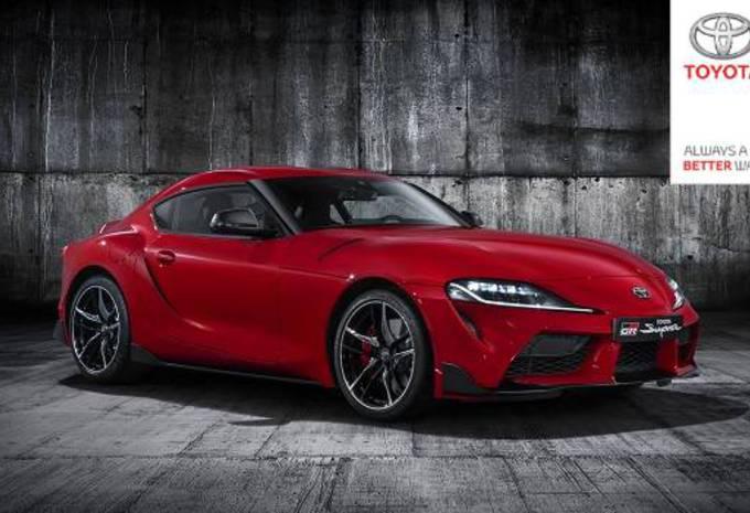 De nieuwe Toyota Supra lekt volledig! #1
