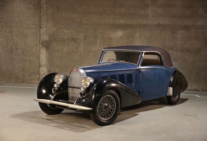 3 bugatti sorties d une grange en belgique moniteur automobile. Black Bedroom Furniture Sets. Home Design Ideas