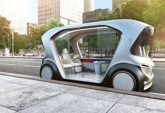 CES 2019 – La navette autonome connectée de Bosch #1