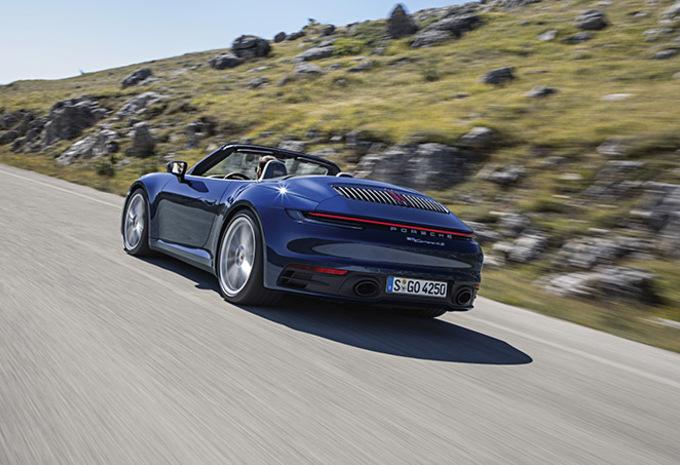 Porsche 911 (992): nu reeds als Cabriolet #1