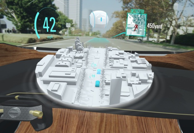 CES 2019 – Nissan Invisible-to-Visible: augmented reality #1