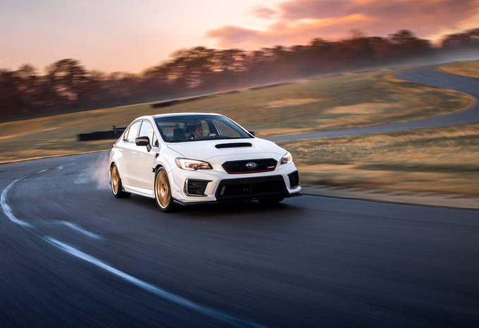 Subaru WRX STI S209: US only #1
