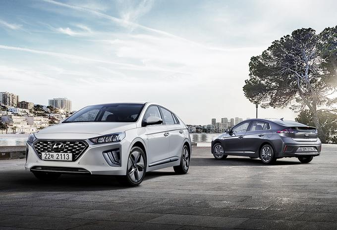 Hyundai Ioniq : petit facelift pour les hybrides #1