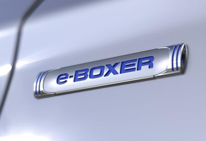 Subaru e-Boxer: hybride modellen voor Europa #1