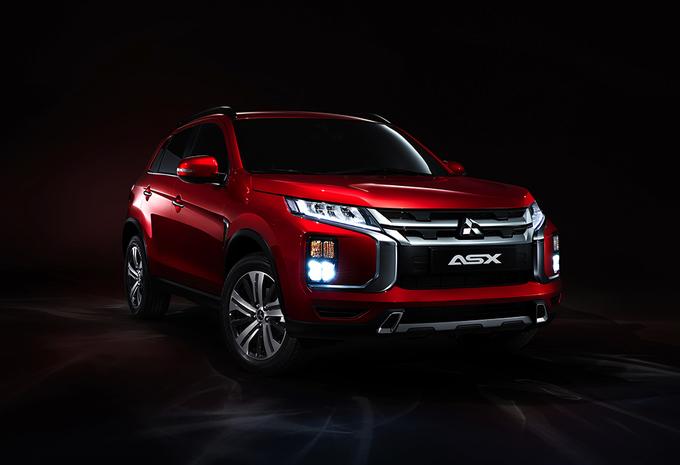 Mitsubishi ASX : un facelift pour Genève #1
