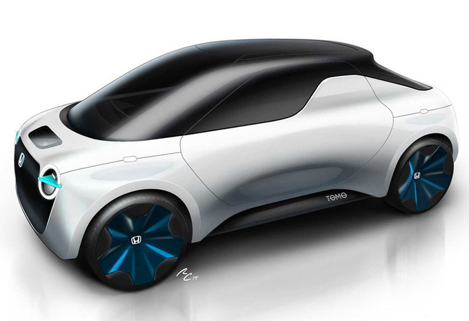 Honda Tomo Concept : Urban EV en pick-up #1