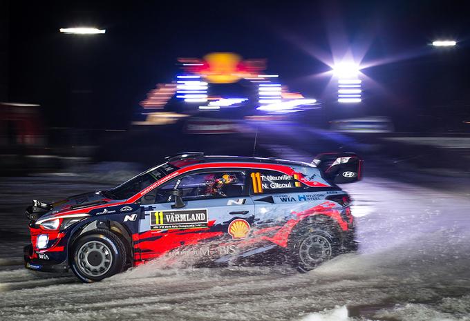 Tänak leidt, Neuville strijdt voor podium in rally Zweden #1