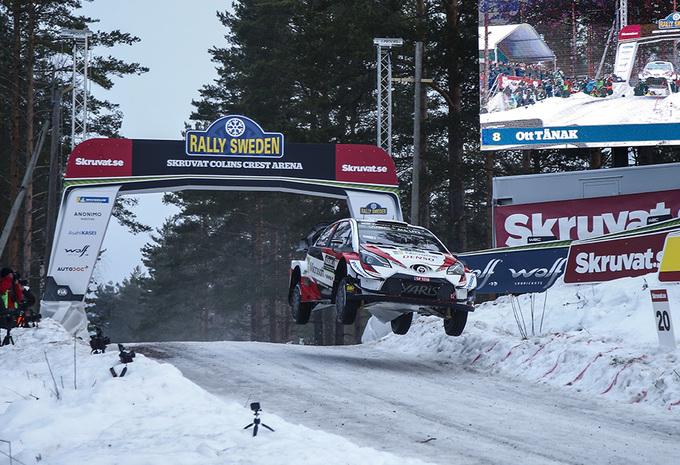Tänak wint, Neuville redt de meubelen met derde plaats in rally Zweden #1