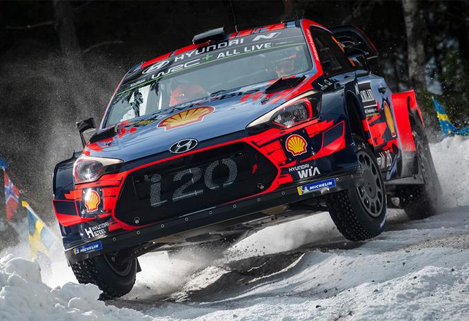 Opgave Ogier, Neuville overleeft helse openingsdag in rally Zweden #1