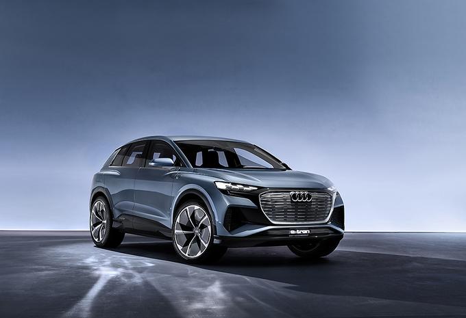 Audi Q4 E-Tron SUV Concept komt eind 2020 #1