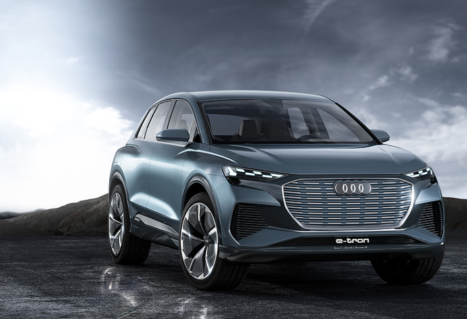 Audi Q4 e-tron Concept : version de production promise pour 2020 #1